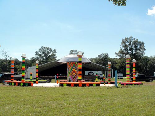Bonnaroo Fountain